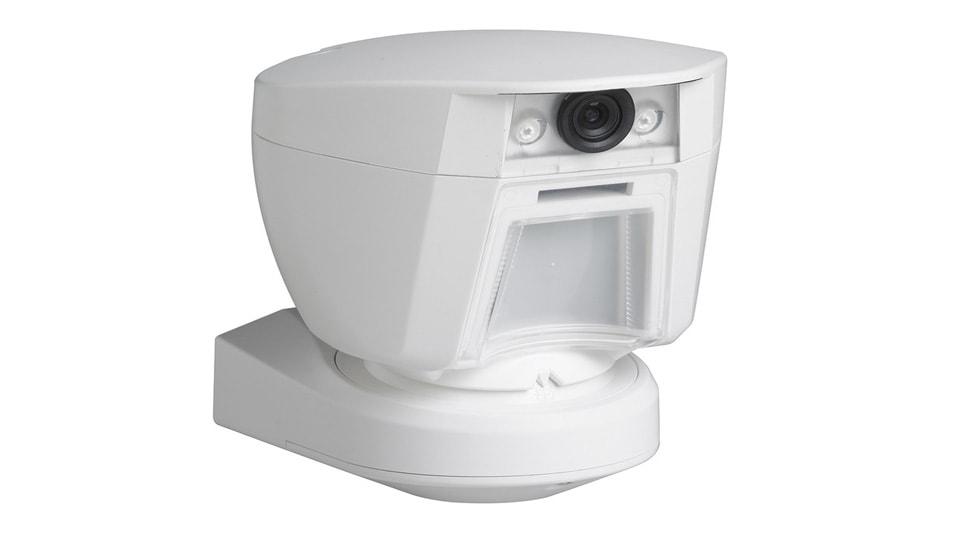detector con cámara