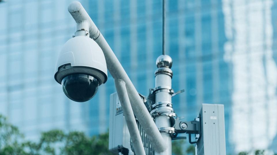 Cámara de vigilancia pública