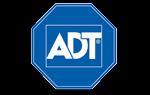Logotipo de la empresa de alarmas ADT