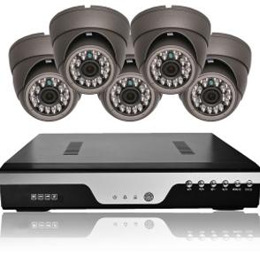 Vídeo grabador y cámaras de seguridad
